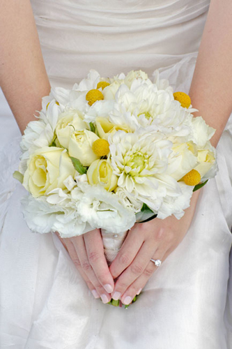 Closeup-Yellow-Bouquet