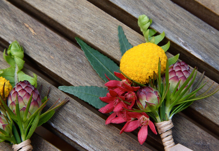 Colourful-Buttonhole