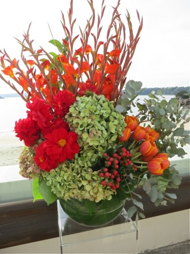 Bathers Pavilion Wedding Flowers