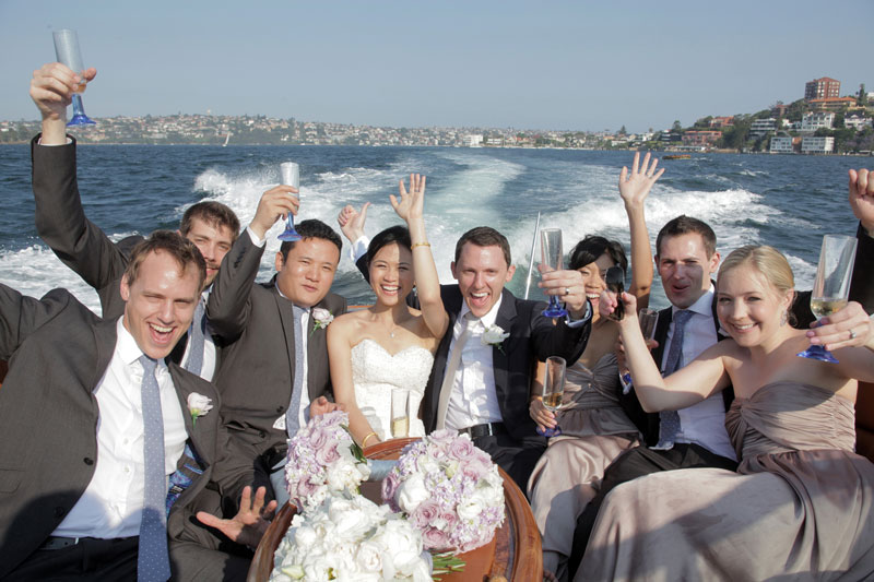 sydney harbour wedding flowers