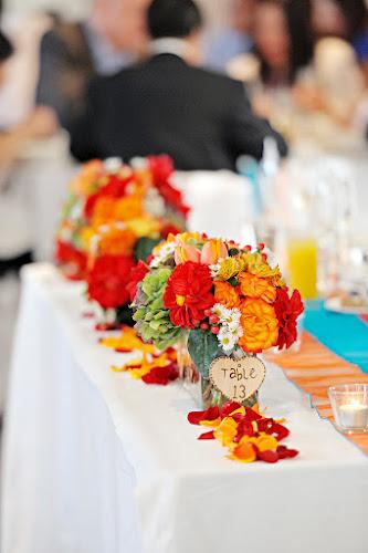 Bathers Pavilion Wedding flowers