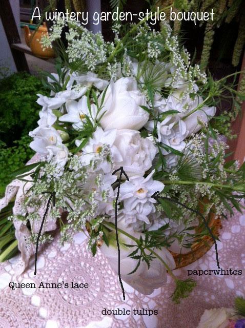 winter vintage bouquet